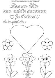 Coloriage Pour Maman Je T Aime Poemes S Coloriages Fete Des Meres