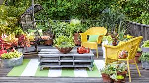 Patio Plant Stands Wheels by 13 Container Gardening Ideas Potted Plant Ideas We Love