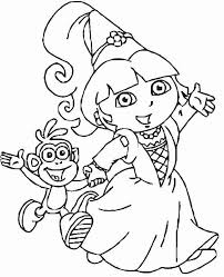 Free Printable Dora Coloring Pages 17 Sheets