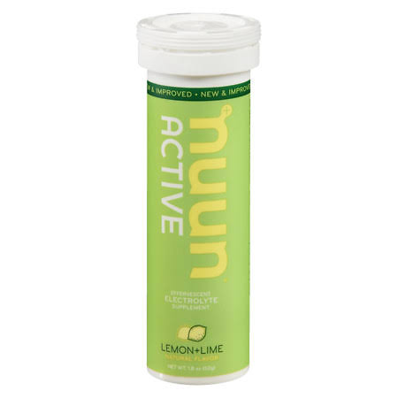 Nuun Hydration Electrolyte Drink Tablets - Lemon Lime
