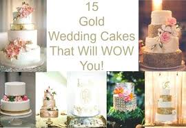 Rustic Wedding Cake Topper Ideas Cakes Chic Gold