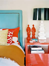 Coral Color Decorating Ideas by Bedroom Extraordinary Navy Blue And Coral Home Decor Grey And
