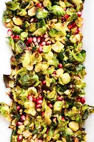 Sprout Pumpkin Seeds Recipe by Crispy Brussels Sprout Salad With Pomegranate Seeds Recipe