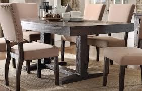 Acme Furniture Eliana Salvage Dark Oak 72 Inch Dining Table ...