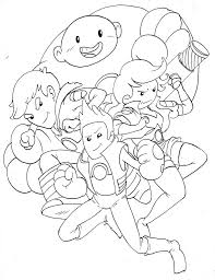 Catbug Coloring Pages Bravest Warriors Line By Semajz On Deviantart
