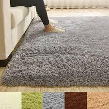 teppichboden matte fluffy anti skid shaggy teppich esszimmer