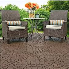create a fall friendly outdoor living space on a budget