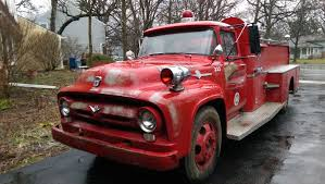 1956 Ford F-600 Fire Truck Is Too Hot Not To Buy - Ford-Trucks.com Ford Confirms It Will Stop All F150 Production After Supplier Fire 2005 F 750 Fire Truck 44 Rtrucks The Ten Most Badass Trucks Image Result For Ford Pinterest Champion Sold 1922 Model T Truck Youtube Beautiful 1961 800 C Series At Firehouse Cultural 1991 L9000 For Sale 58359 Miles Pacific Wa Kme Light Duty Rescue F550 4x4 Gorman Our Apparatus Vestal 1979 Ford Fire Truck Chassis