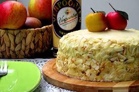 apfel haferflocken kuchen mit verpoorten original eierlikör marzipan buttercreme