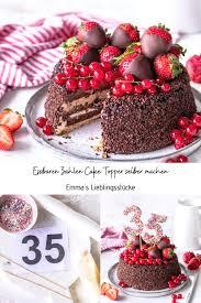 diy zwei cake topper ganz einfach selber machen s
