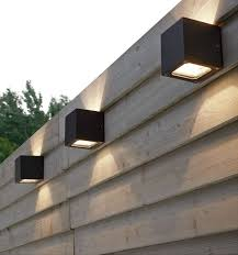 best 25 fence lighting ideas on garden post lights