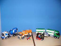 100 Lego Cement Truck LEGO 7733 Cargo Forklift 7990 Mixer 799 Flickr