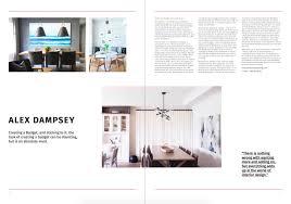 100 Residential Interior Design Magazine DESTIG MAGAZINE CANADIAN INTERIOR DESIGNER ALEX DAMPSEY GIVES US