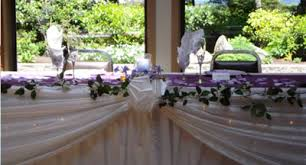 Wedding Head Table Flowers Garland