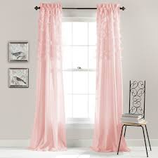 Lush Decor Window Curtains by Lush Decor Avery Pink Window Curtains Pairs