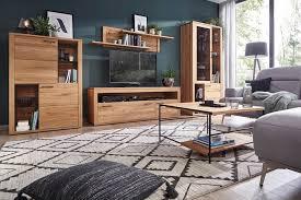 innatura massivholzmöbel i wohnwand aus massivholz