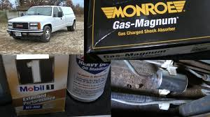 91 GMC C3500 Dually Monroe Shocks, Oil Change & Fuel Filter - YouTube Monroe Reflex Shock Review Youtube Absorber Replacement Interval Myths Carscope Repair Diagnosis How To Replace Front Shocks 34817 Gasmagnum Driver Or Passenger Side Dropping The Backend Of A Twin Ibeam Ford Part 2 Hot Rod Network 91 Gmc C3500 Dually Oil Change Fuel Filter Page Rangerforums The Ultimate Ranger Good Shock Vs Bad Mega Kyb Gabriel Absorber Cross Reference 555010 Ecatalog Monroe Shocks Struts Gas Magnum Lh Rh For Chevy Pickup