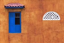 Ancient Architecture Building Caribbean Cartagena City Colombia Colonial Facade Historic Latin Painted Shutters Spanish Street Town Urban