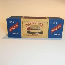100 Box Truck Trader Matchbox Lesney Major Pack 7 Thames Cattle Empty Repro