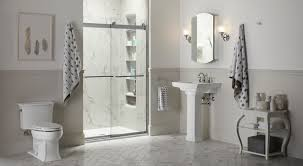 Tiling A Bathroom Floor Around A Toilet by Choreograph Shower Wall And Accessory Collection Bathroom Kohler
