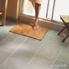 diy how to install groutable vinyl floor tile burger 10