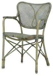 Cool Palecek Dining Chair Chairs Retro Rattan Arm Reviews Gray Room