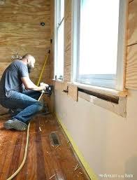 Luan Plywood Underlayment Flooring As Floor
