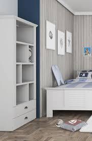 regal bücherregal standregal wohnzimmer weiß 75cm