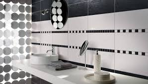 black and white tile bathroom ideas furniture