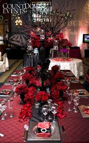 Red Wedding Black Twilight Roses Drama My If I Re Did This Is What It Would Look Like W White Peonies Blackwhitered Silver Were
