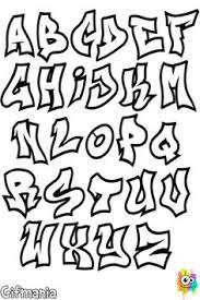 easy graffiti letters alphabet Google Search idk