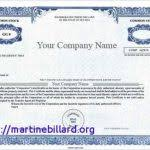 Bond Certificate Template Corporate Best Professional Templates