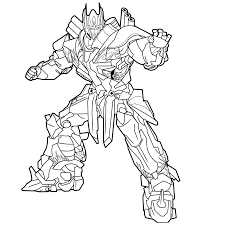 Transformer Coloring Pages Optimus Prime Best Collections Of Transformers Coloring Pages Megatron Luxury Optimus Prime Coloring Coloriage Transformers 4 Optimus Prime