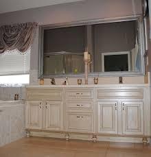 rustoleum light kit with glaze trim added cabinet