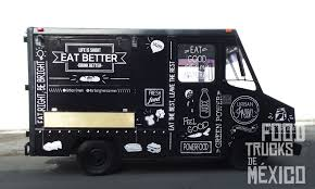 100 Green Food Truck Parte Exterior De Diseo De Vinil Del Lado De Atencin A