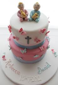 Baptism Decoration Ideas For Twins by Twins Christening Cake Christening Cake And Decor Pinterest