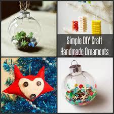 Simple DIY Craft Handmade Ornaments