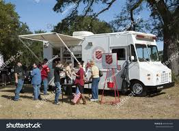 SALVATION ARMY EMERGENCY SERVICE FEEDING TRUCK Stock Photo (Edit Now ...