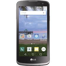 Total Wireless LG Rebel 8GB Prepaid Smartphone Black Walmart