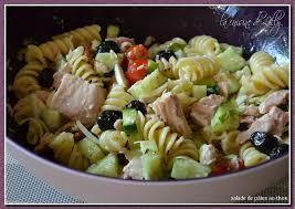 salade de pâtes au thon la cuisine de lilly
