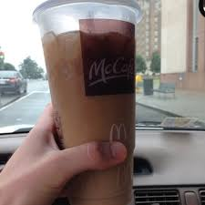 Cazey Feels Qualified To Review The Golden Arches Iced Coffee With Saras Additional Queen Input Sara Drinks Every Day Usually Black