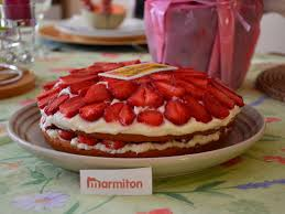 dessert au mascarpone marmiton photo 11 de recette gâteau à la fraise et au mascarpone marmiton