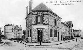bureau de poste franconville l ancien bureau de poste à ermont hier et aujourd hui série 2