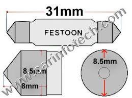 automotive festoon oem visual bulb specifications wattage erage
