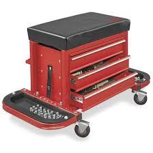 Uline Rolling Tool Cabinet Cart