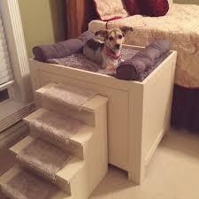Bedside Platform Dog Bed 6417