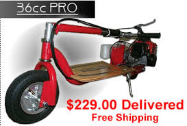 Scooterx Gas Scooters Frontpro