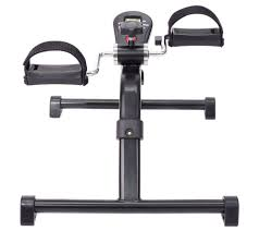 Under Desk Bike Peddler by Healthsmart Bicycle Style Pedal Exerciser With Digital Monitor