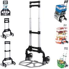 170 Lbs Cart Folding Dolly Push Truck Hand Collapsible Trolley ... Magna Cart Ideal 150 Lb Capacity Steel Folding Hand Truck Amazoncom Flatform 300 Four Wheel Platform Elite 200 Ebay Xinfly Wired Electronic Alarm Siren Horn 2 Tone Inoutdoor Dollies Trucks Paylessdailyonlinecom Elama Home Heavyduty Carry All Easy W Lid Page 1 Packnroll 85607 With Alinum Toe Plate Go Suppliers And Manufacturers At Alibacom Trolley Dolly 2in1 Comfort Handle Plastic Relius Premium Youtube