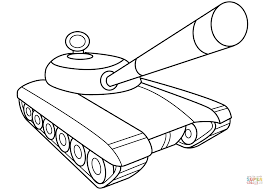 Click The Army Tank Coloring Pages To View Printable